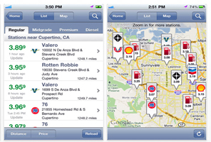 Post image for Apps | GasBuddy – great free app that finds the cheapest gas